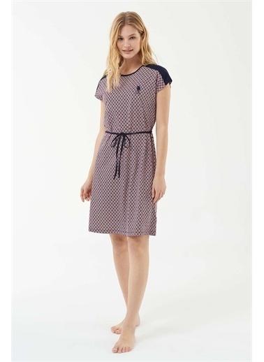 U.S. Polo Assn. Kadın Lacivert Elbise Lacivert